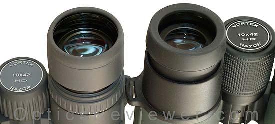 Vortex Razor HD Eyecup Comparison