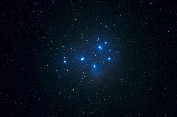 Pleiades - viewable with binoculars