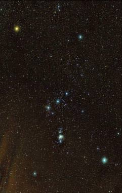 Orion is Visible with Binoculars