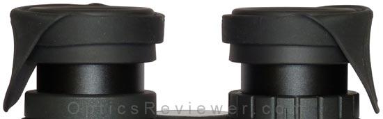EyeShields Lowered for Use with Eyeglasses