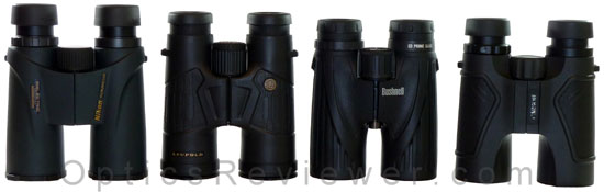 Bushnell Legend Ultra HD vs Nikon Monarch 5 vs Leupold BX-2 Cascades vs Carson 3D ED