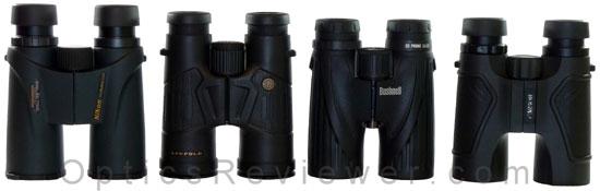 Bushnell Legend Ultra HD vs Nikon Monarch 5 vs Leupold BX-2 Cascades vs Carson 3D ED