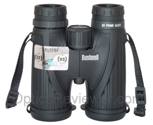 Bushell Legend Ultra HD 10x42 - top view