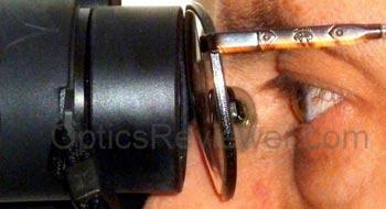 Eye relief when Buying Binoculars