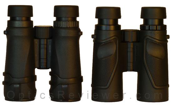 Nikon Monarch 5 ED and Carson 3D ED comparison