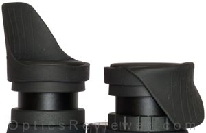 EyeShields on a Binocular