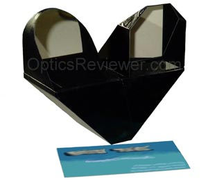 Fujinon 25X150 Binocular Prism with business card
