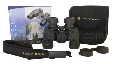 What you get with the Leupold Yosemite binoculars