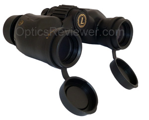 Angled view of Leupold BX-1 Yosemite 6X30 objectives