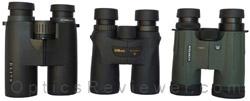 Nikon Monarch 7, Elite ED, Viper HD Comparison