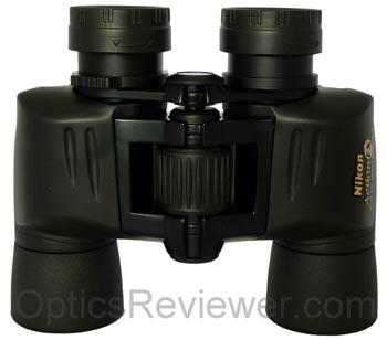 Top view of Nikon Action EX 8X40