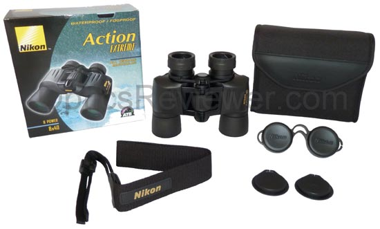 What you get with Nikon Action Extreme
