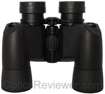 Underside of Nikon Action Extreme binocular