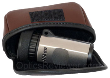 Nikon monocular in its case