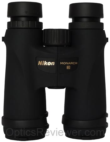 Top view of Nikon Monarch 3 10X42