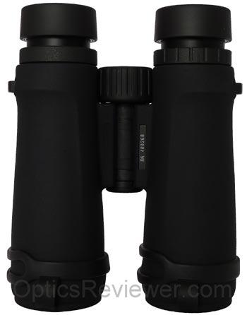 Underside of Monarch 3 binocular