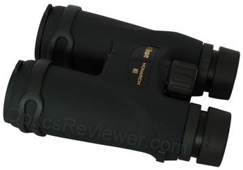 Angled view of Nikon Monarch 3