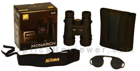 What comes with Nikon Monarch 5 ED
