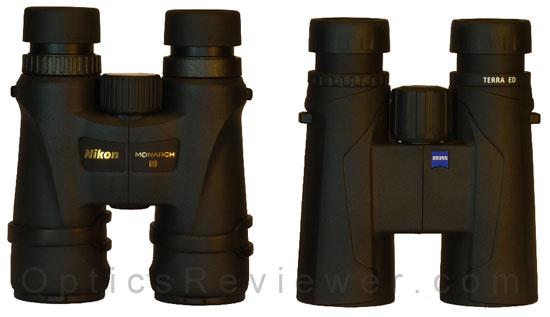 Nikon Monarch 5 ED vs Zeiss Terra ED binoculars