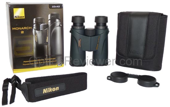 What comes with Nikon Monarch 5