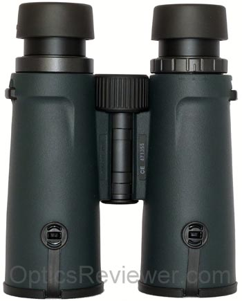 Underside view of Monarch 5 Binocular
