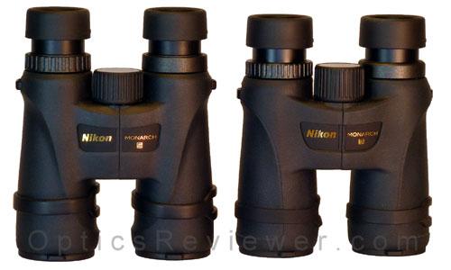 Nikon Monarch 5 and 7 comparison