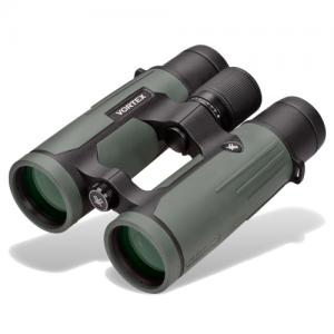 Angled view of Vortex 2011 Razor HD binoculars objectives