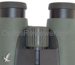 Swarovski SLC HD Diopter Adjuster extended