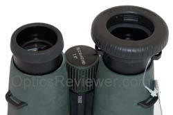 Swarovski Optic Snap Shot Adapter in place on the EL binocular