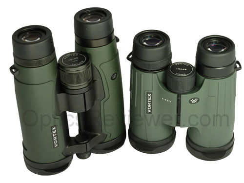 A top view of the Talon HD and Viper HD binoculars