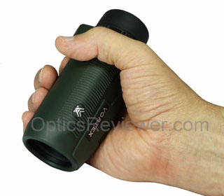Vortex Solo Monocular held in a hand