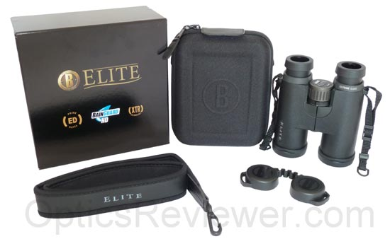 What Comes with Bushnell Elite ED 8X42