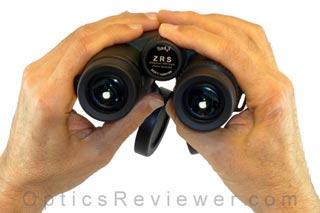 Zen-Ray ZRS HD Binocular in hand