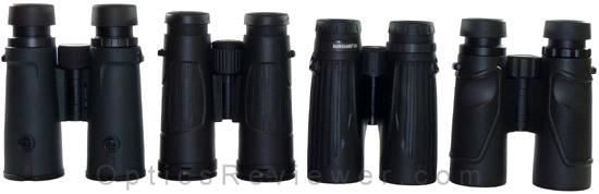 Nikon Monarch 5, Bushenll Legend Ultra HD, Leupold BX-2 Cascades and Carson 3D ED Comparison