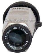 Objective lens of Nikon Monocular