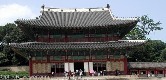 South Korean Palace