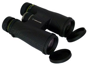 Vanguard Spirit ED 10X42 with open lens covers