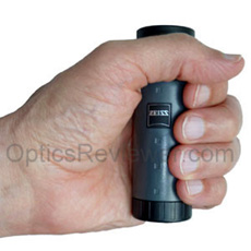 A hand-held Zeiss Monocular 6X18B DS