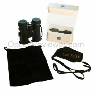 What comes with Zeiss Terra ED Binocular