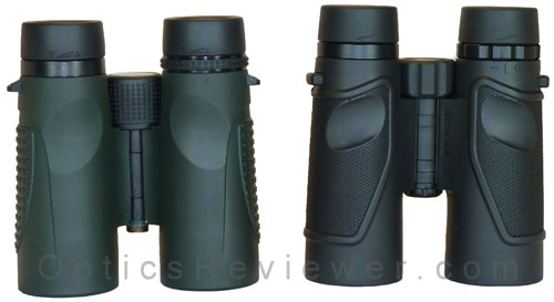 Zen-Ray ZRS HD and Carson 3D ED binoculars