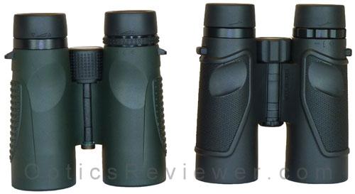 Zen-Ray ZRS HD and Carson 3D ED binoculars